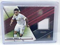 2021 Topps MLS Soccer Ezeqiuel Barco Jersey Relic Atlanta United SSP JR-EB