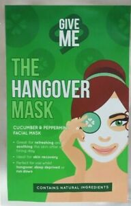 Give Me - The Hangover Cucumber &  Peppermint Face Mask⚡Fast Dispatch⚡UK Seller
