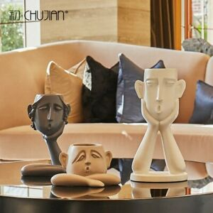 Modern Statues Abstract Figures Ornaments Personality Sculptures Home Decor