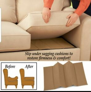 NEW SOFA SAVERS DELUXE REJUVENATOR BOARDS SAGGING CHAIRS SUPPORT 1 2 3 4 SEATER