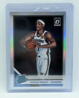 DARIUS BAZLEY 2019-20 Donruss Optic #156 - Silver Holo Rated Rookie RC
