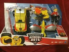 PLAYSKOOL HEROES TRANSFORMERS BUMBLEBEE ROCK RESCUE TEAM