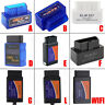 ELM327 V2.1 OBD2 CAN-BUS Bluetooth or WIFI Car Auto Interface Scanner lot DP