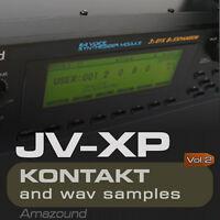 JV2080 + XP80 SAMPLES for KONTAKT 175 NKI 1400 WAV 24bt VOL2 MAC PC MPC LOGIC FL