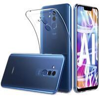 Transparent Cover für Huawei Mate 20 Lite Handy Hülle Silikon Case Schutz Tasche