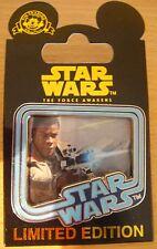 Disney Star Wars The Force Awakens Pin Countdown # 4 Finn LE 10,000 - NOC