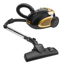 VYTRONIX BGGC01 1200W Bagged Cylinder Vacuum Cleaner - Black/Gold