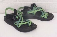 Chaco ZX2 High-End Women's Waterproof Sport Sandals Green Size 6 MINT WORN ONCE