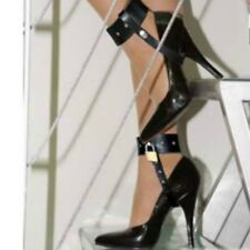 Locking leather CUFFS for HIGH HEELS US OT-31-LEA, FREE UK DELIVERY