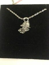 "Sherlock Holmes R67 Emblem Silver Platinum Plated Necklace 18"""