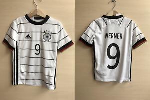 5+/5 Kids Deutschland #9 Werner 2019/2021 Home Sz XS Germany shirt 7-8Y jersey