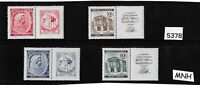 #5378 Complete MNH stamp set / Mozart / Music  WWII Third Reich Occupation 1940s