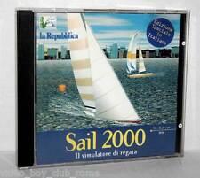 SAIL 2000 IL SIMULATORE DI REGATA GIOCO USATO OTTIMO PC EDIZIONE ITALIANA GB1