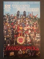 Transformers 12 IDW 2012 Retailer Incentive Variant Comic More than meets eye