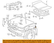 TOYOTA OEM Hood-Release Handle Lever 5360152010C1