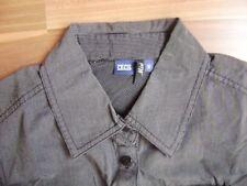 @ CECIL @ Bluse langarm klassisch dunkelgrau  Size S Gr. 38 UK 12 US 10 MIRA