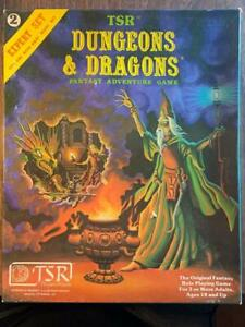 TSR Dungeons & Dragons (D&D) Expert Set 2nd/3rd Printing Otus Cover