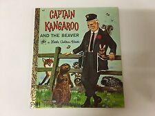 Captain Kangaroo And The Beaver - 1973 (Little Golden Book) H/C