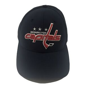 Washington Capitals Adidas Authentic NHL Collection Fitted Hat One Size Fits All