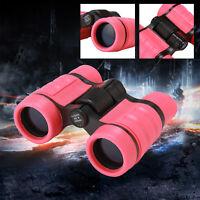 4X30 Binoculars Vanfn Rubber Adjustable Mini Lightweight For Kids 3-10 years