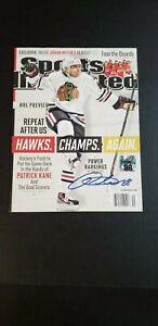 Patrick Kane Autographed Signed Chicago Blackhawks 2013 Sports Illustrated Mag