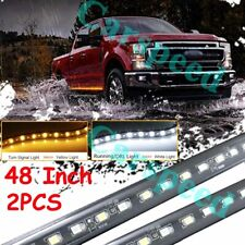 "48"" LED Running Board Light Kit Side Step Strip For Ford F-150 F-250 Super Duty"