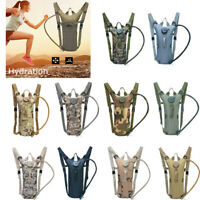 3L Water Bladder Bag Molle Hydration Backpack for Outdoor Camping Hiking Running