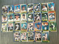 1990 LOS ANGELES DODGERS Topps Complete Baseball Team Set 29 Cards MURRAY GIBSON