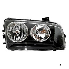 Fits 06-10  Charger Right Pass Halogen Headlamp Assembly With Clear Signal
