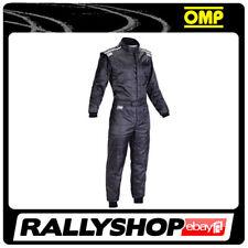 OMP KS-4 Suit Black Size XL 58-60 Go Karting Racing Overall CIK-FIA 4 Layers