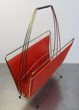 1950er Zeitungsständer Ablage Rockabilly mid century string design 50s
