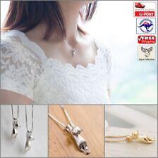 Cute Mini Hanging Kitty Cat Pendant Necklace Chain Women Jewelry [B1J~B37]