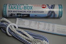 Wassersport Sailor's Takel-Box Knoten-Set Seemannsknoten lernen-Knotenkurs-Neu