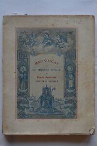Magnificat in CL linguas versum - Abbaye Notre-Dame de Lérins - 1887