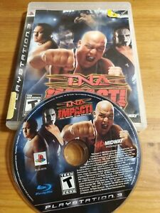 TNA Impact TESTED PS3 NO MANUAL (Sony PlayStation 3, 2008)