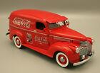 1:24 Danbury Mint 1941 Chevrolet Panel Delivery Coca-Cola Coke Truck **READ**