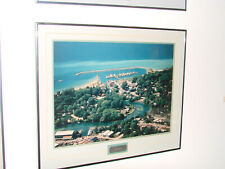 """Leeland Aerial  Framed and Matted Picture 20""""h x 24""""w- Beautiful"""