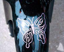 8x10 Handpainted Motorcycle Art Photo Butterfly Portfolio Airbrush Artist-Gift