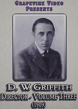 D. W. GRIFFITH: DIRECTOR 3 - DVD - Region Free - Sealed