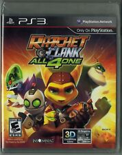 Ratchet & Clank: All 4 One (Sony PlayStation 3, 2011) Factory Sealed