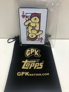 Garbage Pail Kids Playing Cards Sy Clops Challenge Coin Medallion Slab 100/100