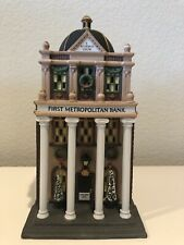 *Christmas* Department 56 Christmas In The City First Metropolitan Bank