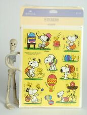 Peanuts Snoopy Pack of Stickers Flake Stickers Yellow