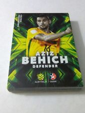 2018 Caltex Socceroos Card Set of 22 cards