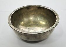 Vintage antique ethnic solid Silver Bowl from Rajasthan India