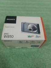 Sony Cyber-shot DSC-W810 20.1MP Digital Camera Silver