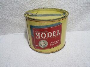 vintage Model Smoking Tobacco tin merchandise tin lot T