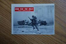 Vintage 1965 P.C.G.C. US Army Corps Trading Card War Bulletin #75