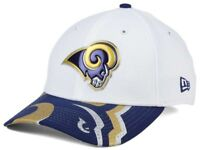 New Era LOS ANGELES RAMS NFL 39THIRTY Draft Stretch Football Fitted Hat Cap