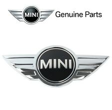 "NEW For Mini Emblem-""MINI"" for Hood Genuine for Mini Cooper R55 R56 R57 R58"
